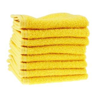 Waslap geel