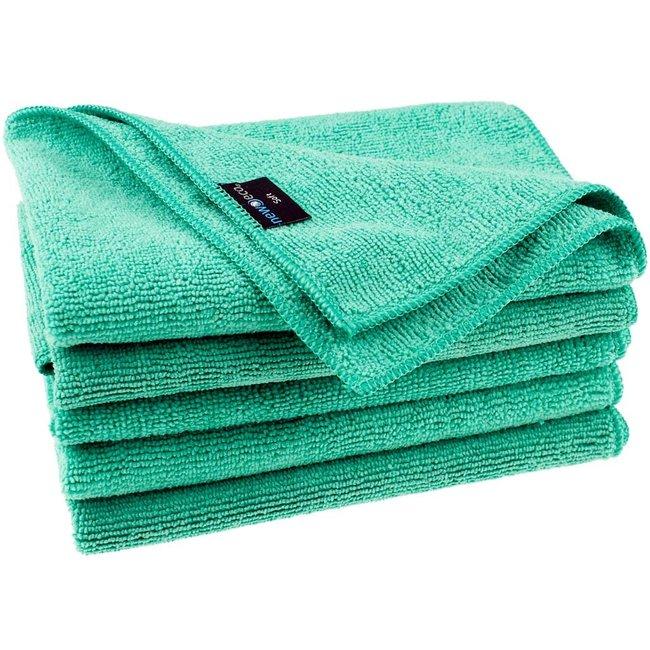 Microvezeldoek soft groen