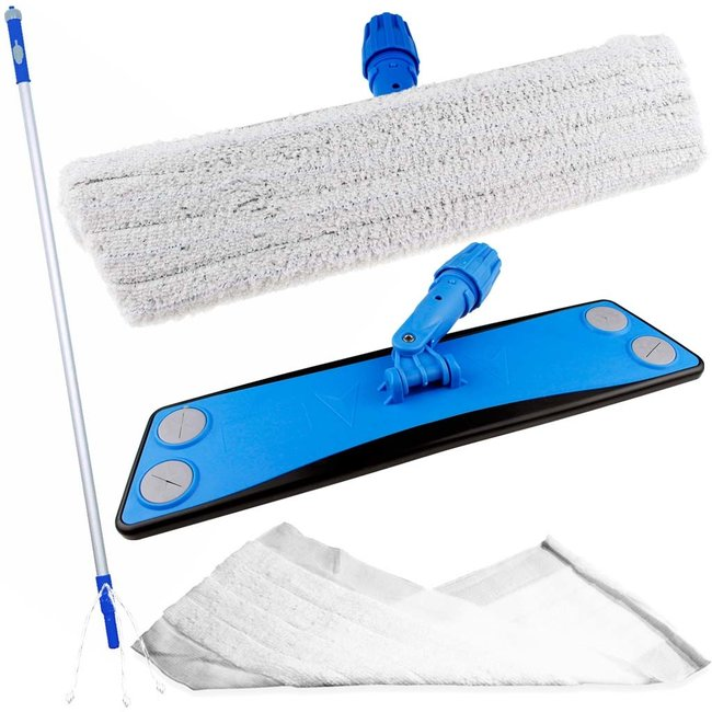 Disposable microvezel mop set