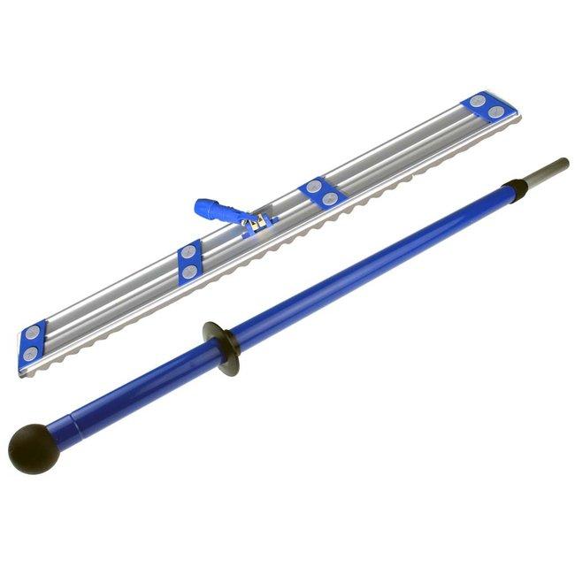 Stofwisdoekhouder set 110cm met ergo telescoopsteel