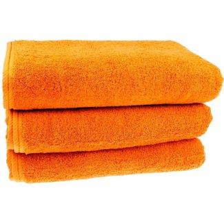 Badhanddoek oranje 100x150cm