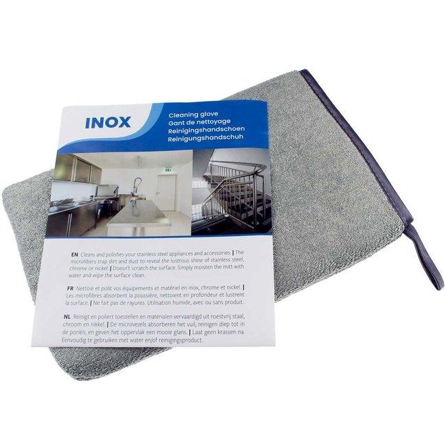 Inox reinigingshandschoen