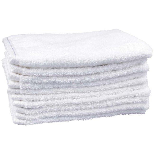 Washandje wit