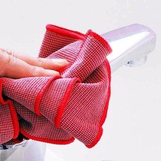 Microvezeldoeken voor hygiënisch schoon sanitair