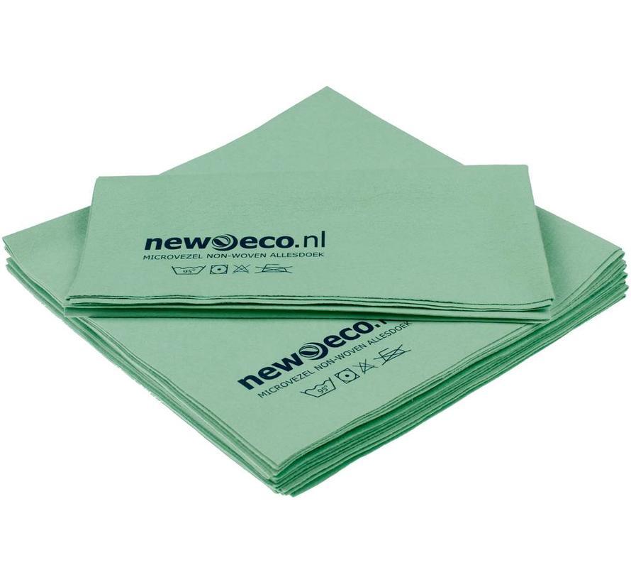 Non-woven microvezeldoeken groen