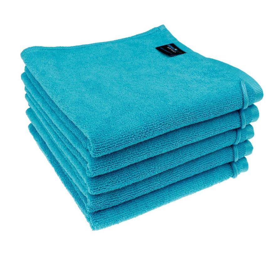 Microvezel Handdoek Turquoise