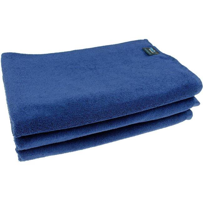 Badhanddoek marineblauw