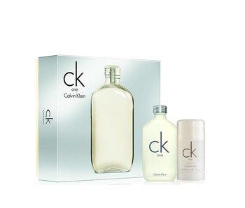 Calvin Klein Giftset CK One + Deodorant Stick
