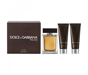 Dolce en Gabbana Giftset The One For Men EDT 100ml + Aftershave Balm 75ml + SHOWER GEL 50ml Toilette
