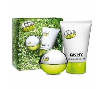 Donna Karan Giftset Be Delicious Woman EDP 30ml + BODY LOTION 100ml Parfum