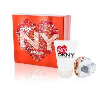 Donna Karan Giftset My NY EDP 100ml + BODY LOTION 100ml + ROLLERBALL 10ml Parfum