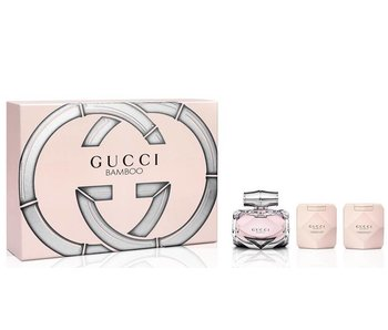 Gucci Giftset Bamboo EDP 75ml + BODY LOTION 100ml + SHOWER GEL 100ml Parfum