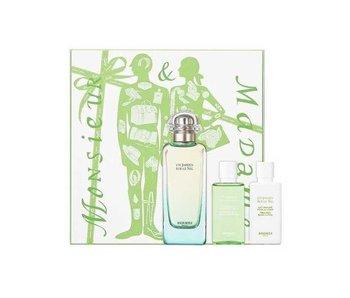 Hermes Giftset Un Jardin Sur Le Nil EDT 100ml + BODY LOTION 40ml + SHOWER GEL 40ml Toilette