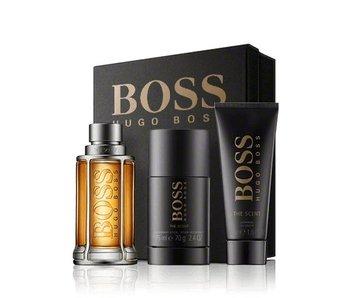Hugo Boss Giftset The Scent For Man EDT 100ml + Deodorant Stick 75ml + SHOWER GEL 50ml Toilette