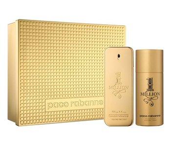 Paco Rabanne Giftset 1 Million Men EDT 100ml + Deodorant 150ml Toilette