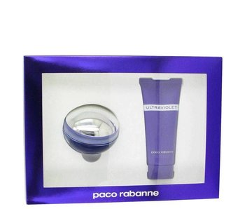 Paco Rabanne Giftset Ultraviolet Woman EDP 80ml + BODY LOTION 100ml Parfum