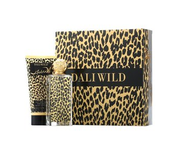 Salvador Dali Giftset Dali Wild EDT 50ml + BODY LOTION 100ml