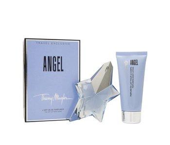 Thierry Mugler Giftset Angel EDP refillable 50ml + BODY LOTION 100ml Parfum