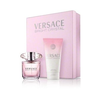 Versace Giftset Bright Crystal EDT 50ml + BODY LOTION 100ml Toilette