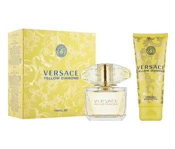 Versace Giftset Yellow Diamond EDT 90ml + BODY LOTION 100ml + EDT 10ml Toilette
