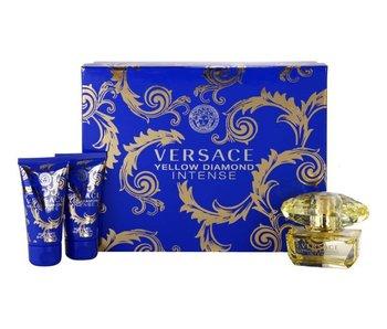 Versace Giftset Yellow Diamond Intense EDP 50ml + SHOWER GEL 50ml + BODY LOTION 50ml Parfum