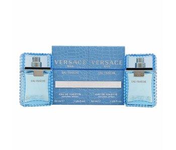 Versace Man Eau Fraiche Gift Set 2 x 30 ml