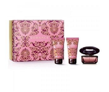 Versace Crystal Noir Gift Set 50 ml, Crystal Noir 50 ml and 50 ml Crystal Noir