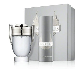 Paco Rabanne Invictus Gift Set 100 ml and Invictus 150 ml