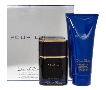 Oscar De La Renta Pour Lui Gift Set 90 ml and Pour Lui 200 ml