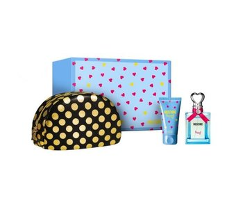 Moschino Funny Gift Set 50 ml, Funny 50 ml and cosmetic bag