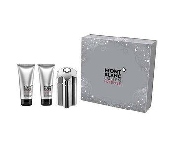 Mont Blanc Emblem Intense Gift Set 100 ml, balm Emblem Intense 100 ml and Emblem Intense 100 ml