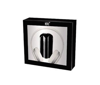 Mont Blanc Emblem Gift Set 100 ml and headphones