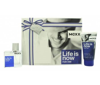 Mexx Life is Now for Him Gift Set 30 ml and Life is Now for Him 50 ml