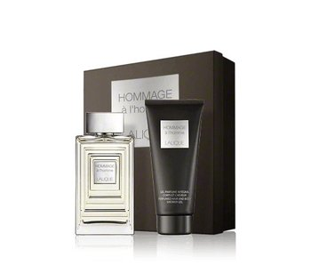 Lalique Hommage a L'Homme Gift Set 100 ml and Hommage a L'Homme 150 ml