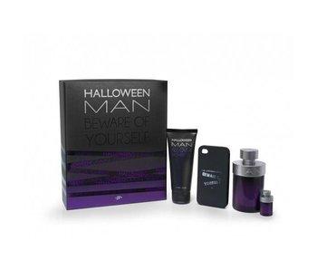 Jesus Del Pozo Halloween Man Gift Set 125 ml, Halloween Man 4 ml, Halloween Man 100 ml and cover for IPhone