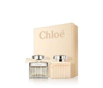 Chloe Chloe Gift Set 75 ml 100 ml and Chloé Chloé minature 5 ml