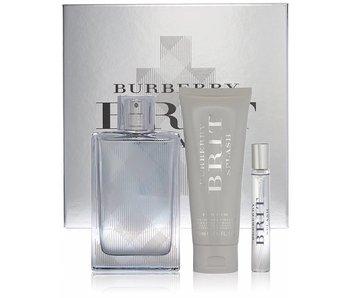 Burberry Brit Splash for Men Gift Set 100 ml, Brit Splash for Men 75 ml and Brit Splash for Men 7,5 ml