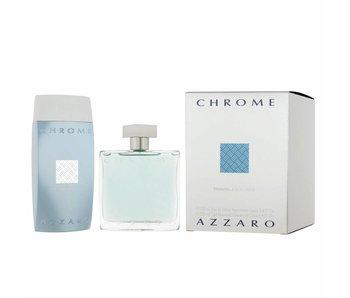 Azzaro Chrome Gift Set 100 ml and 200 ml Chrome