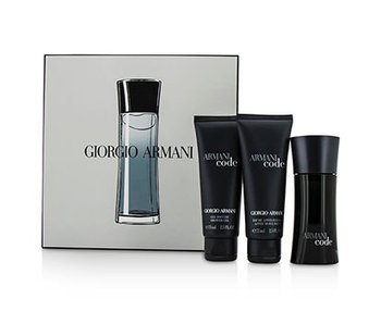 Armani Code for Men Gift Set 50 ml, sfter shave balsam Code for Men 75 ml and Code for Men 75 ml