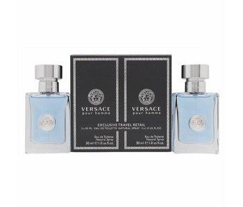 Versace pour Homme Gift Set edt spray 30ml edt spray 30ml