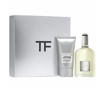 Tom Ford Grey Vetiver Gift Set 50 ml a After Shave Balsam Grey Vetiver 75 ml