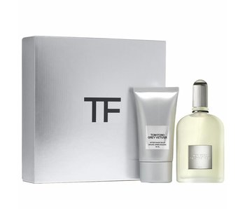 Tom Ford Grey Vetiver Giftset 50 ml a After Shave Balsam Grey Vetiver 75 ml