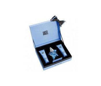 Thierry Mugler Angel Gift Set edp spray refillable 25ml body lotion 50ml shower gel 50ml