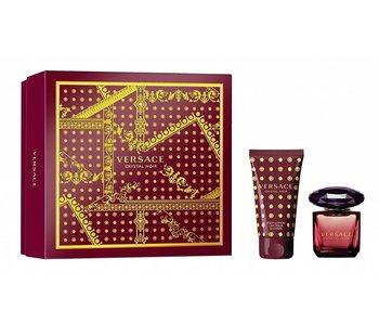 Set Versace Crystal Noir Edt 30Ml + Body Lotion 50Ml
