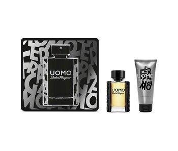 Salvatore Ferragamo Uomo Giftset 50 ml a Shower gel Uomo 100 ml