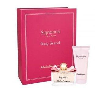 Salvatore Ferragamo Signorina Gift Set 100 ml and Body Lotion Signorina 100 ml