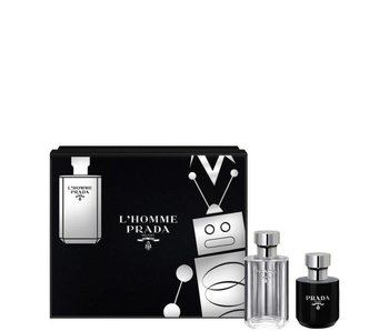 Prada L'Homme Giftset Edt Spray 50Ml Shower Gel 100Ml
