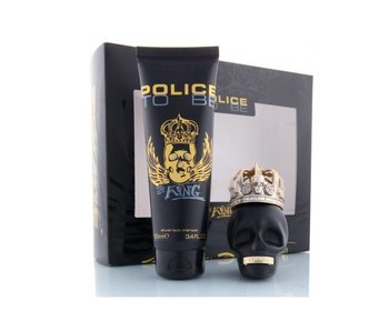 Police SET To Be The King Edt 40Ml + Shower Gel 100Ml