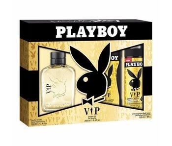 Playboy VIP for Men Giftset 60 ml, Shower gel VIP for Men 250 ml a deodorant VIP for Men 150 ml