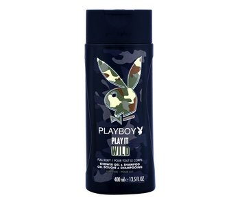 Playboy Play It Wild For Him Shower Gel